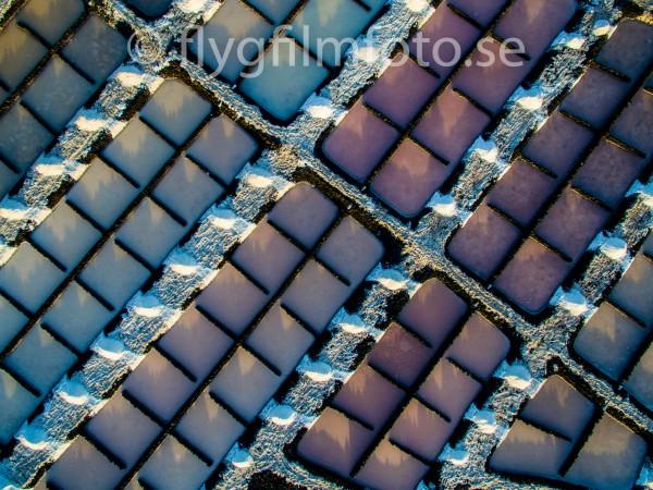 Saltpooler på La Palma skiftar i många färger