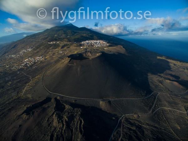 Volcano at La Palma